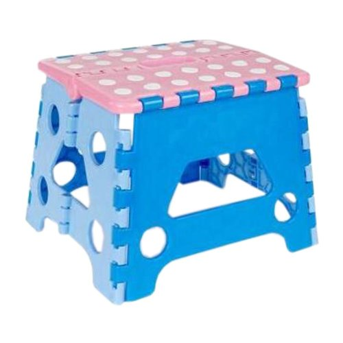 Creative Plastic Foldable Step Stool Portable Folding Stools Stepstool for Kids & Adults, No.10
