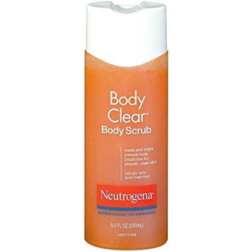 Neutrogena Body Clear Body Scrub 8 50 Oz