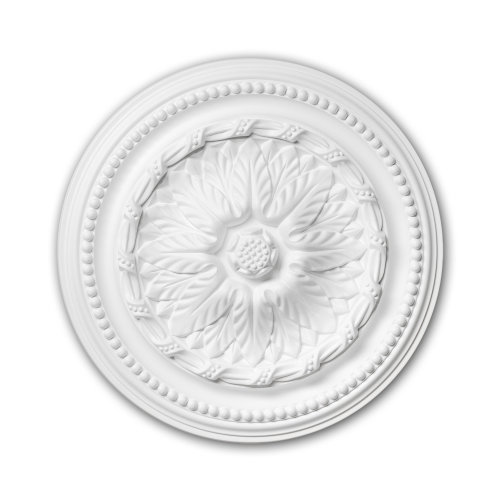 Profhome 156007 Ceiling Rose Medallion Rosette Ceiling Decoration Ø 40 cm