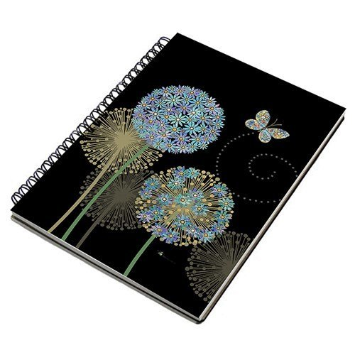 Bug Art Collection - Flower A5 Notebook Pad