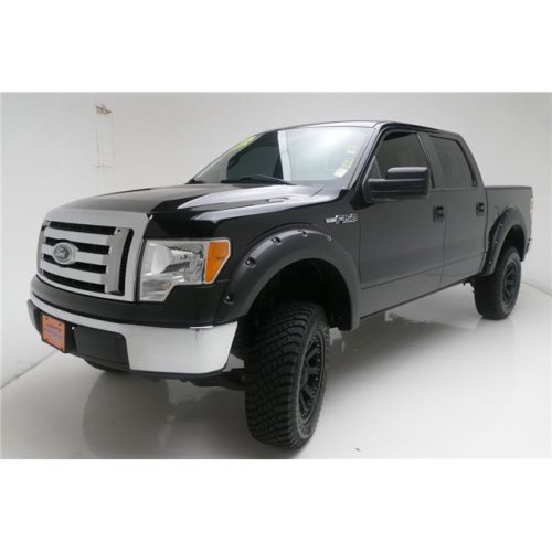 TrailFX T84-PFFG3001S Smooth Black Front & Rear Fender Flares