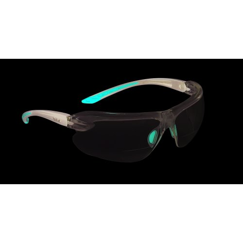 Bolle IRI-S Safety Glasses With Bifocal Dioptric Reading Area +2