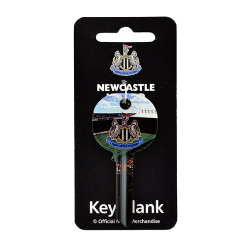 Newcastle United Fc Key Blank (stadium) - Door Football Gift Club Official -  newcastle united key door fc football gift club official blank keyring