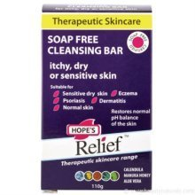 Hopes Relief Hopes Relief Soap Free Cleansing Bar 110g