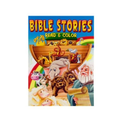 DDI 1335704 Bible Stories Read and Color Book Case of 24