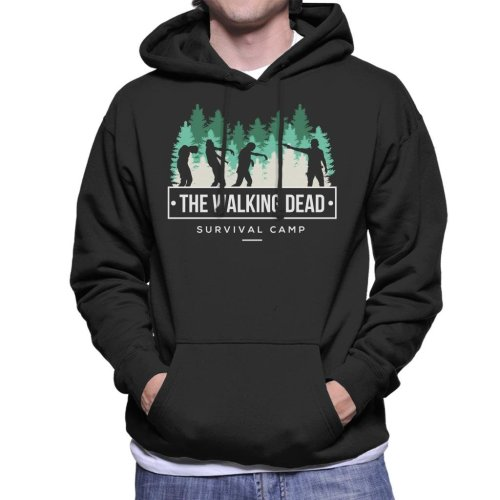 Survival Camp The Walking Dead Men's Hooded Sweatshirt