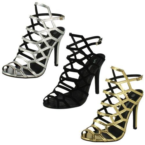Ladies Anne Michelle Peep Toe Fashion Heels