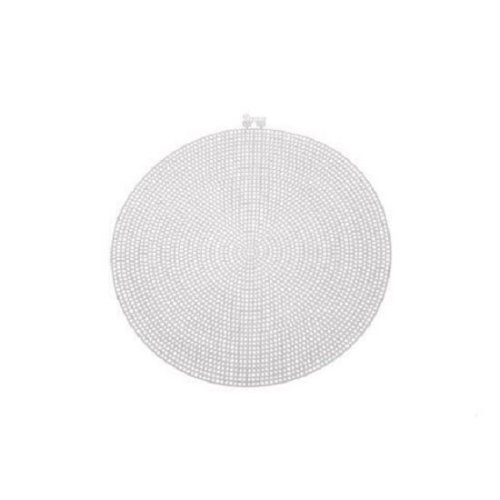 Darice Large Plastic Canvas Circle - 9.5in (24.1cm) - Pack of 12