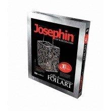 Elf277010 - Josephin - Foil Arts - Silver Candle Holder