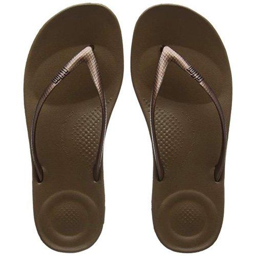 Fitflop Women Iqushion Flip Flops Bronze