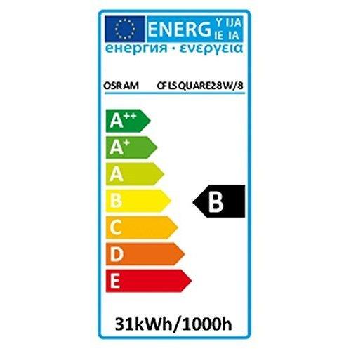 Osram 28w 2D Square 4-Pin Gr10q Cap White (3500k) Compact Fluorescent Lamp