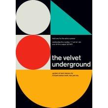"""The Velvet Underground @ New York City, 1970 14"""" x 10"""" Gig Poster"""