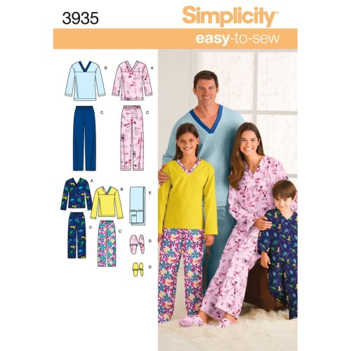 SIMPLICITY UNISEX CHILD, TEEN AND ADULT-XS-L / XS-XL