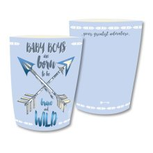Paper Lantern - Baby Boy With Pen