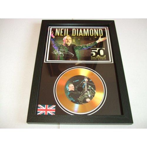 NEIL DIAMOND SIGNED DISC