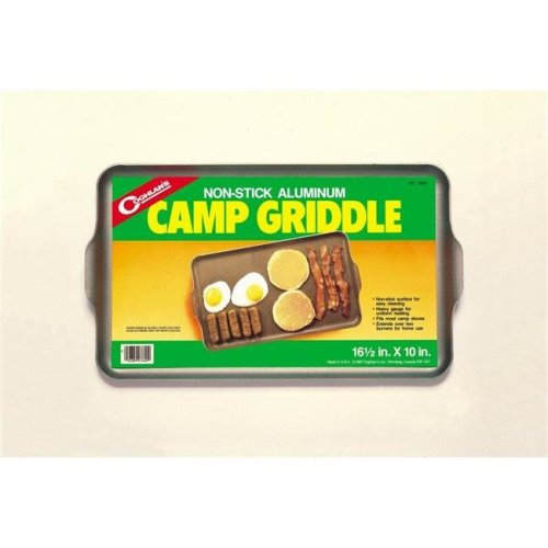 2 Burners Nonstick Aluminum Camp Griddle