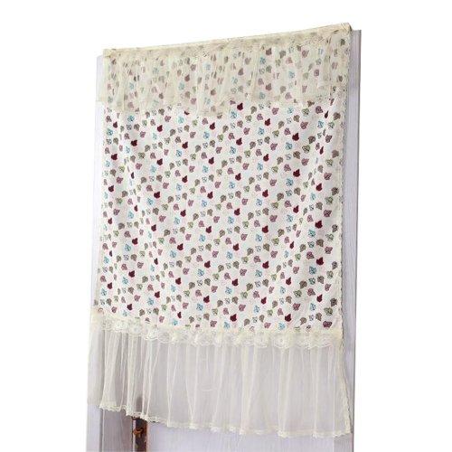 Half-curtain Fabric Curtain Bedroom Kitchen Half Curtain