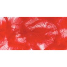 Marabou Feathers .25oz-Red