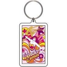 Licenses Products DC Comics Originals Wonder Woman Pop Art Lucite Keychain