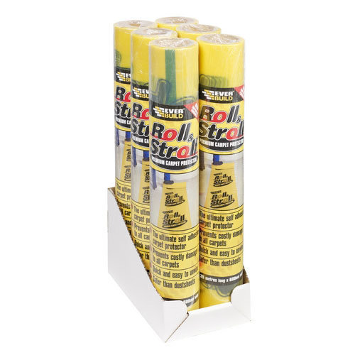 Everbuild Roll And Stroll Premium Carpet Protector 75m x 600mm