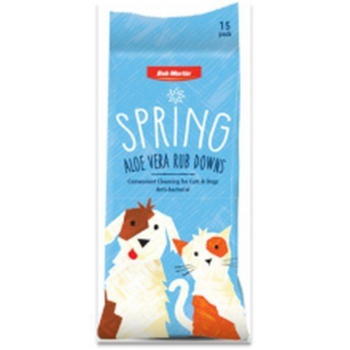Bob Martin Pets Spring Anti Bacterial Lavender Rub Downs
