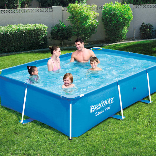 Bestway Steel Pro Swimming Pool with Steel Frame 259x170x61cm Play Centre