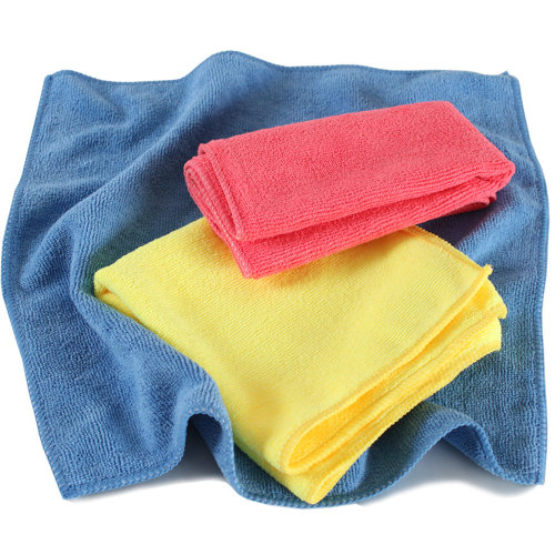 30 microfibre cloths - colorful