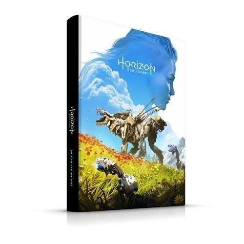 Horizon Zero Dawn Official Collectors Edition Strategy Guide Book