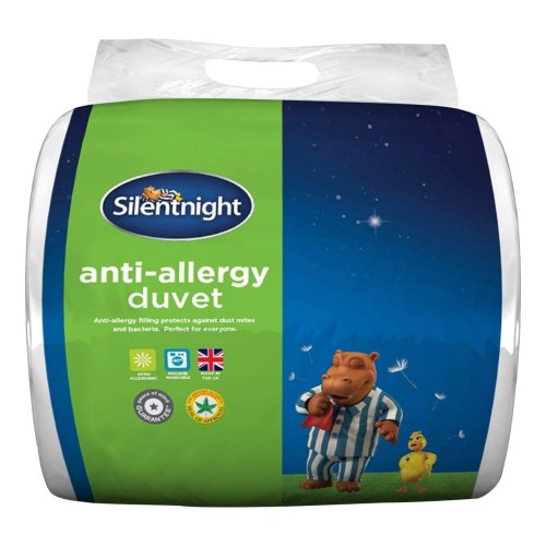 Silentnight Anti Allergy Duvet, 4.5 Tog - Single