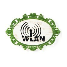 Decorative Wall Hanging Wall Accent Wall Door Hanging Plaques Wlan Sign