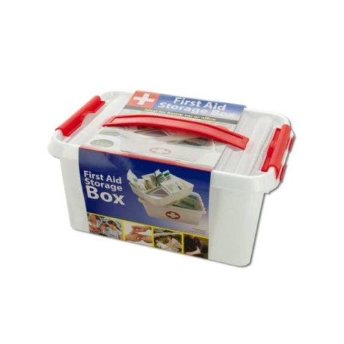 Kole Imports OT565-6 First Aid Storage Box - Pack of 6