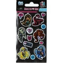 Monster High Puffy Stickers - Set of 3 Sheets