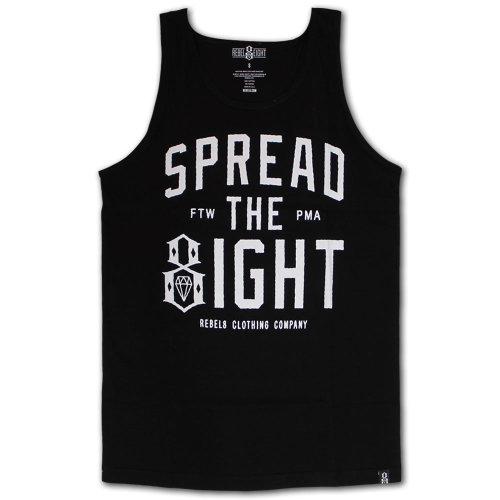Rebel8 Spread The Eight Tank Top Black