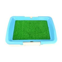 "High-quality Pet Supplies & Indoor Pet Grass Potty Dog Toilet (18""*13""*2""),BLUE"
