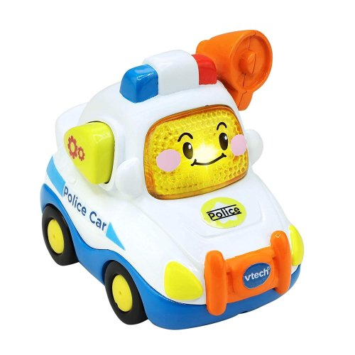 Vtech Toot-Toot Drivers Police Car With 3 Songs and 6 Melodies Preschool Toy Ages 1- 5 Years