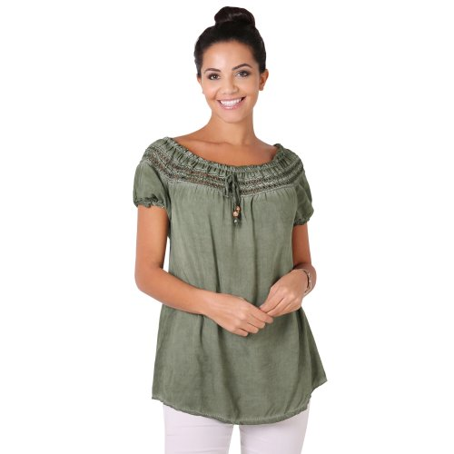Loose Fit Gypsy Blouse Top