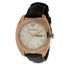 Emporio Armani Leather Mens Watch AR1939