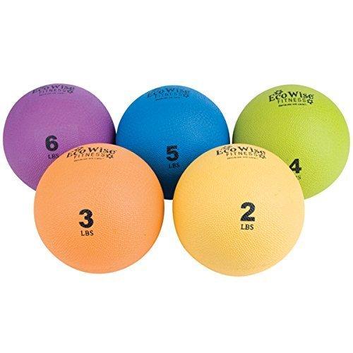 EcoWise Weight Ball 4 lbs Kiwi