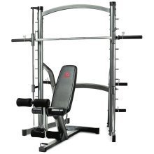 Marcy SM1000 Deluxe Smith Machine Rack With Weight Bench