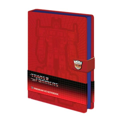 Transformers Optimus Prime A5 Premium Hardback Notebook