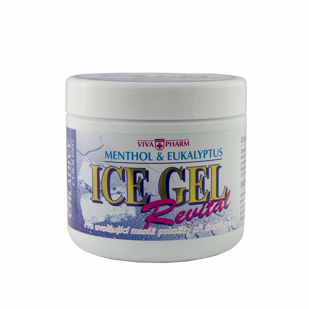 ICE Gel Muscle Pain Relief - Pre and Post Workout Muscles and Joints  Analgesic and Relaxant - Cooling Rub Relieves Knee, Neck, Arthritis Pain,