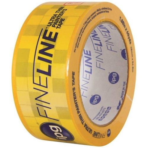 Intertape Polymer 5729694 1.88 in. x 55 Yard Fineline Ultra Thin Painters Masking Tape