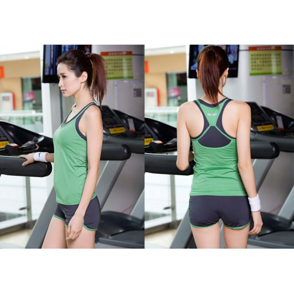 32667a69b4b1 ... Green Sexy Yoga Apparel Sexy Yoga Pant Gym Clothes Dance Outfit Fitness  Suit - 1. >