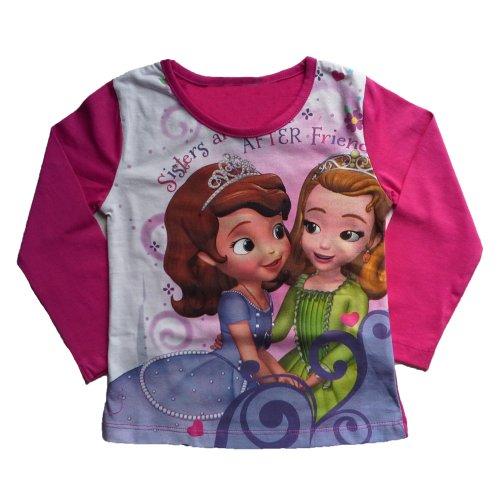 Princess Sofia  T Shirt - Sisters - Fuschia