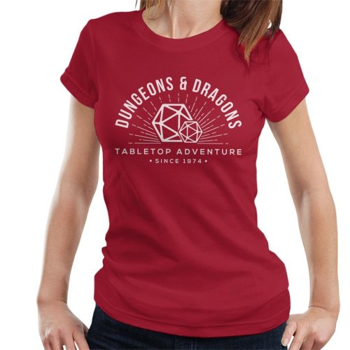 Dungeons And Dragons Adventures Since 1974 Women's T-Shirt