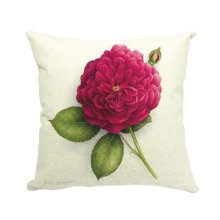 Home/Office Sweet Flowers Cotton Linen Body Pillow Cases Cushion Cover,No.4