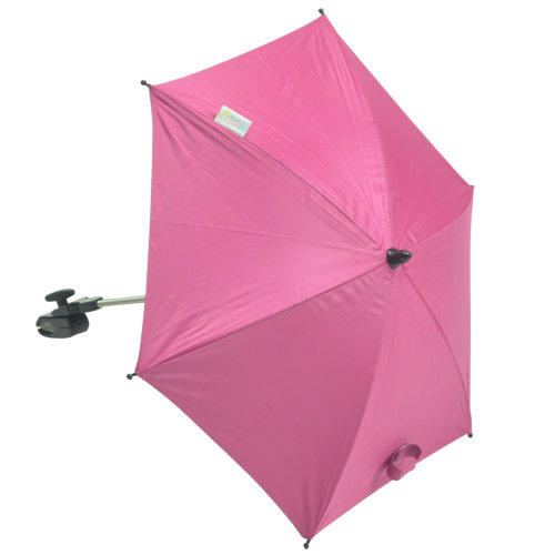 Baby Parasol compatible with Chicco Double Together Hot Pink