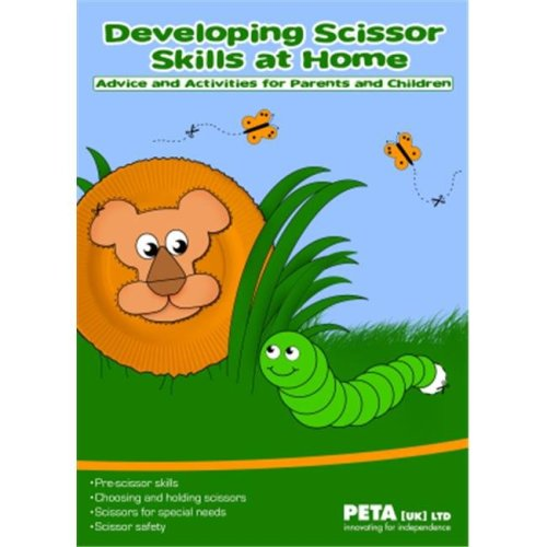 American Educational Products P-112 Developing Basic Scissor Skills At Home Booklet