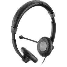 Sennheiser SC 70 USB MS BLACK USB Binaural Head-band Black headset