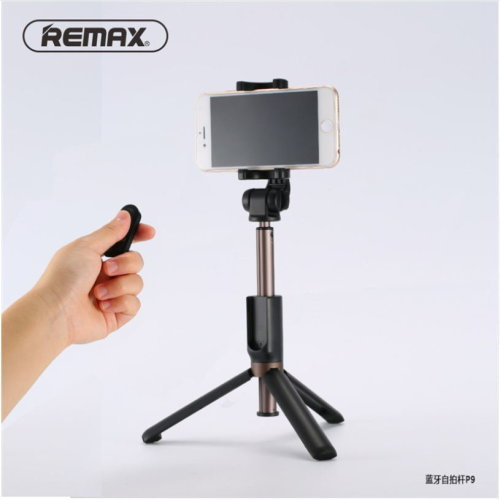 REMAX P9 Selfie Stick Tripod Portable or iPhone Samsung Xiaomi Phones